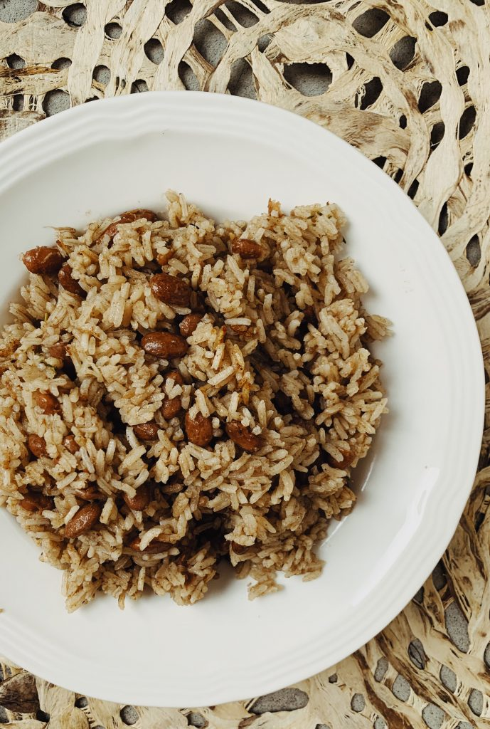 jamaican rice and peas from Brooklyn Active Mama
