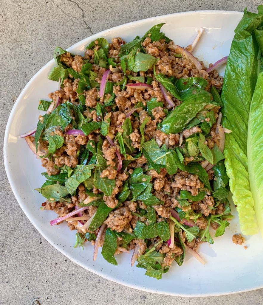 Thai Larb by Wok and Skillet - we're grateful for it